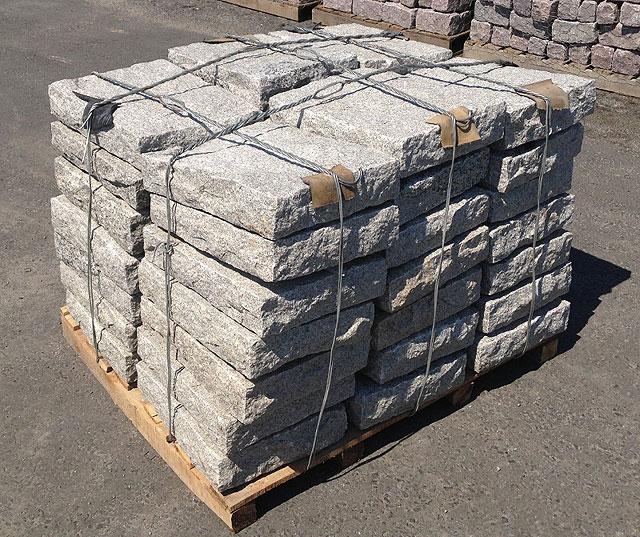 Granite Block Curb : Belgian block